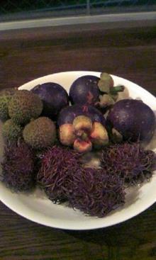 ワイガーデンのブログ-タイの果物